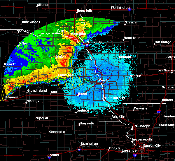 Radar Image for Severe Thunderstorms near Rising City, NE at 6/1/2018 10:53 PM CDT