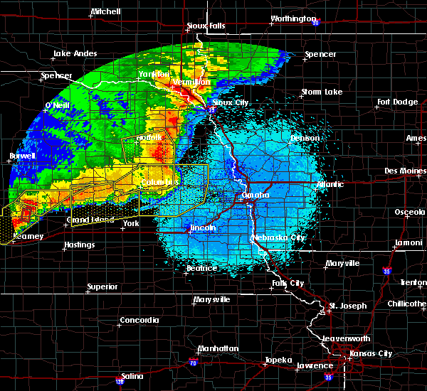 Radar Image for Severe Thunderstorms near Fullerton, NE at 6/1/2018 10:59 PM CDT