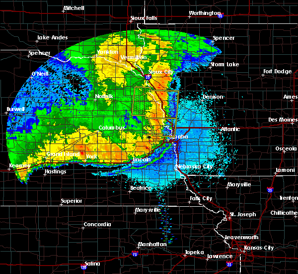 Radar Image for Severe Thunderstorms near Moorhead, IA at 6/2/2018 12:12 AM CDT