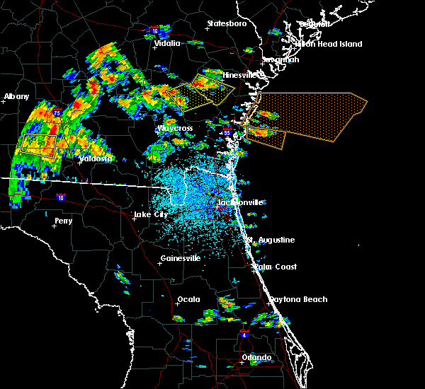 Radar Image for Severe Thunderstorms near Jesup, GA at 6/2/2018 2:37 PM EDT