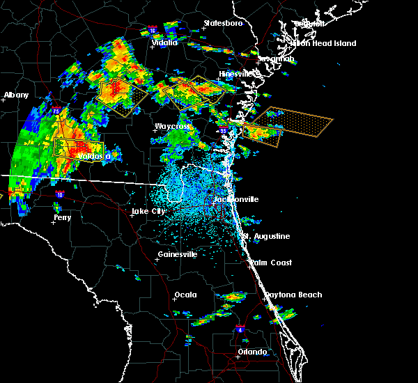 Radar Image for Severe Thunderstorms near Jesup, GA at 6/2/2018 3:04 PM EDT