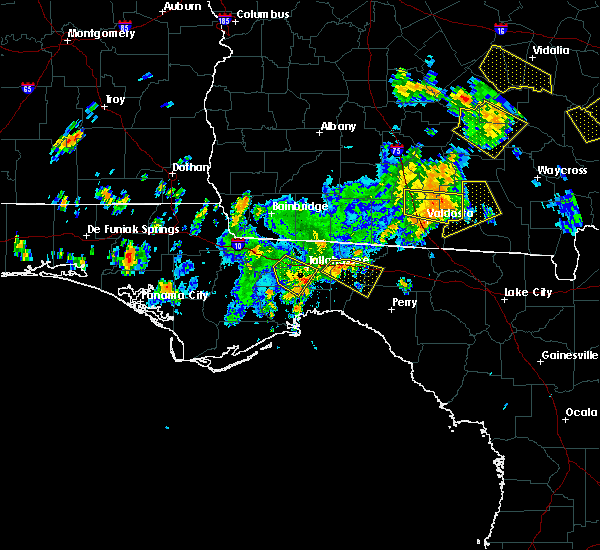 Radar Image for Severe Thunderstorms near Tallahassee, FL at 6/2/2018 3:14 PM EDT