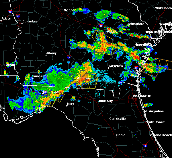 Radar Image for Severe Thunderstorms near Homerville, GA at 6/2/2018 3:35 PM EDT