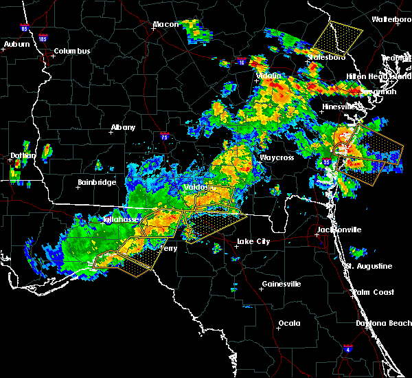Radar Image for Severe Thunderstorms near Jennings, FL at 6/2/2018 4:05 PM EDT