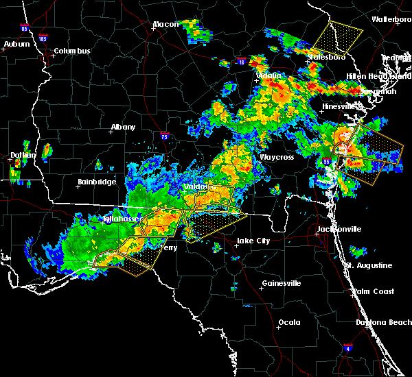 Radar Image for Severe Thunderstorms near Live Oak, FL at 6/2/2018 4:05 PM EDT