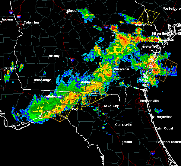 Radar Image for Severe Thunderstorms near Day, FL at 6/2/2018 4:11 PM EDT