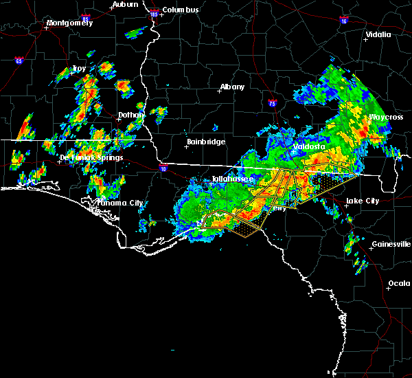 Radar Image for Severe Thunderstorms near Perry, FL at 6/2/2018 4:21 PM EDT