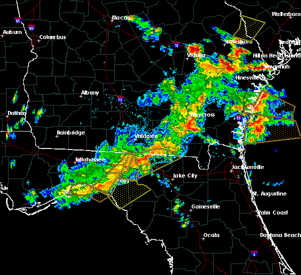 Radar Image for Severe Thunderstorms near Perry, FL at 6/2/2018 4:24 PM EDT