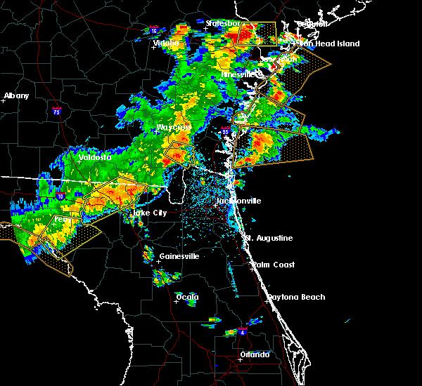 Radar Image for Severe Thunderstorms near Homeland, GA at 6/2/2018 4:55 PM EDT