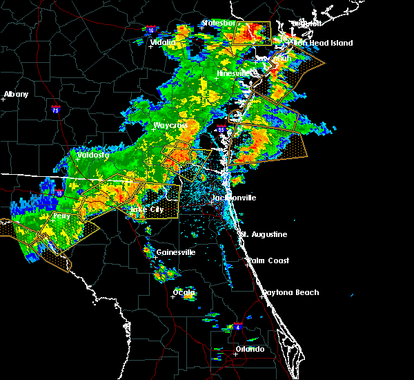 Radar Image for Severe Thunderstorms near Macclenny, FL at 6/2/2018 5:05 PM EDT
