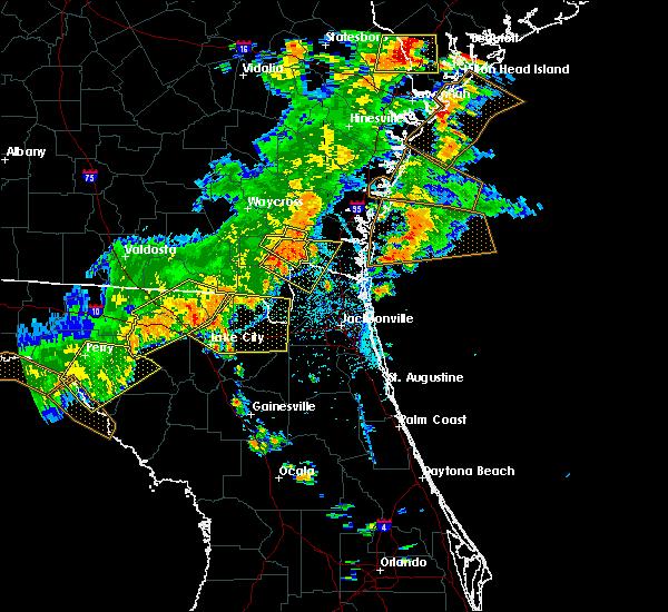 Radar Image for Severe Thunderstorms near Homeland, GA at 6/2/2018 5:04 PM EDT