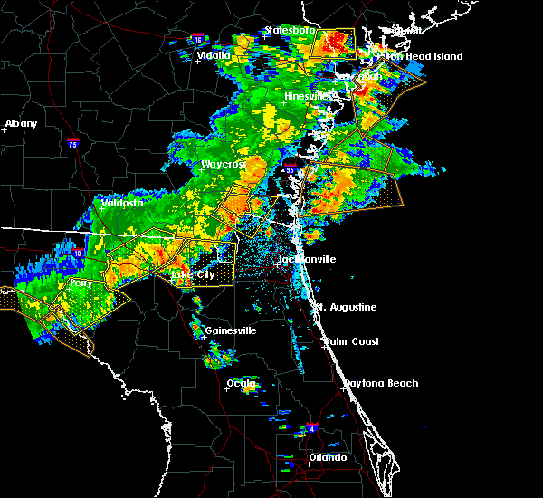 Radar Image for Severe Thunderstorms near Homeland, GA at 6/2/2018 5:11 PM EDT