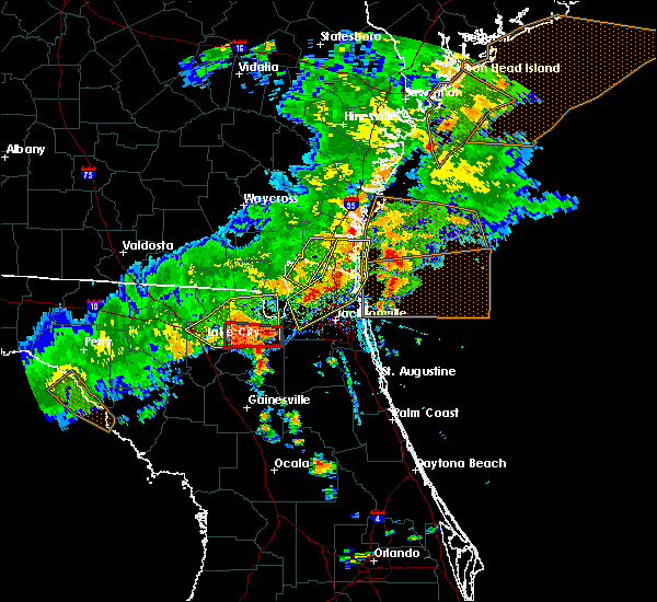 Radar Image for Severe Thunderstorms near Raiford, FL at 6/2/2018 5:44 PM EDT