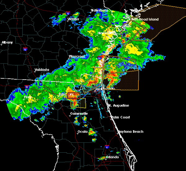 Radar Image for Severe Thunderstorms near Macclenny, FL at 6/2/2018 5:50 PM EDT
