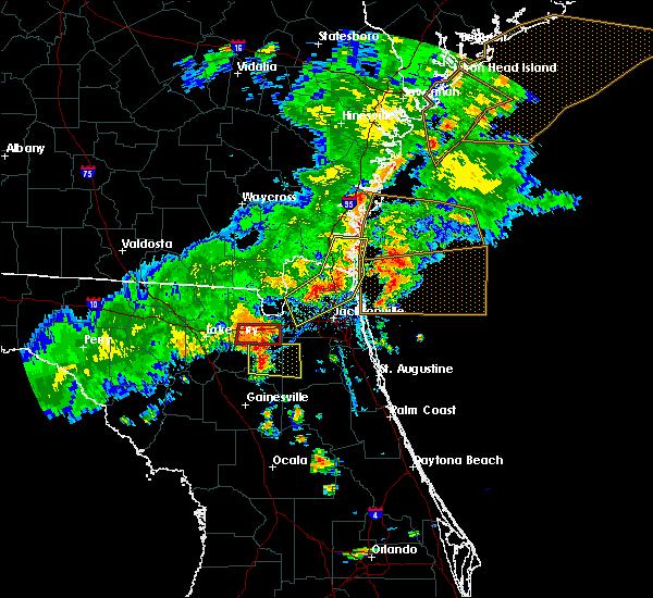 Radar Image for Severe Thunderstorms near Glen St. Mary, FL at 6/2/2018 5:50 PM EDT