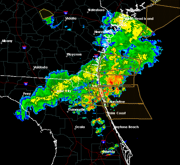 Radar Image for Severe Thunderstorms near World Golf Village, FL at 6/2/2018 6:40 PM EDT
