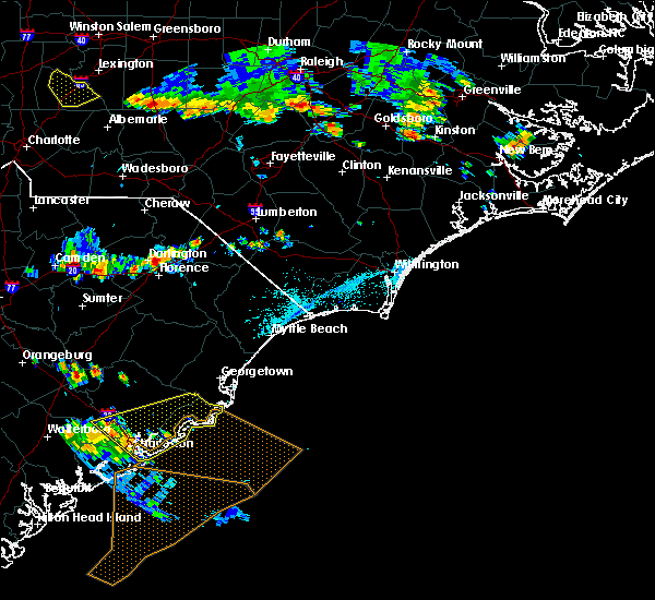 Radar Image for Severe Thunderstorms near Summerville, SC at 6/2/2018 6:41 PM EDT