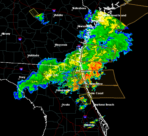 Radar Image for Severe Thunderstorms near Bunnell, FL at 6/2/2018 6:49 PM EDT
