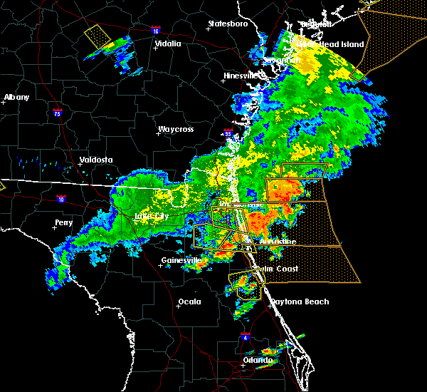 Radar Image for Severe Thunderstorms near Fruit Cove, FL at 6/2/2018 6:59 PM EDT