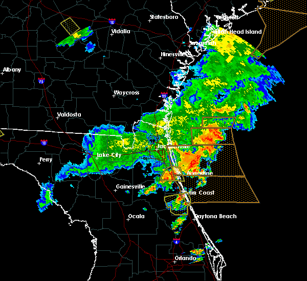 Radar Image for Severe Thunderstorms near World Golf Village, FL at 6/2/2018 7:11 PM EDT
