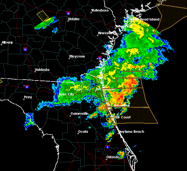 Radar Image for Severe Thunderstorms near Bunnell, FL at 6/2/2018 7:14 PM EDT