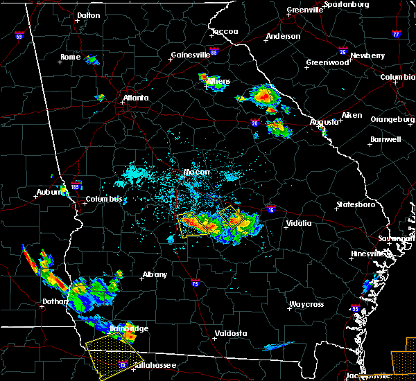 Radar Image for Severe Thunderstorms near Unadilla, GA at 6/2/2018 7:14 PM EDT