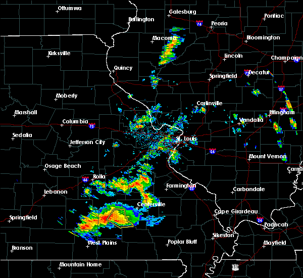 Radar Image for Severe Thunderstorms near Eminence, MO at 6/2/2018 7:18 PM CDT