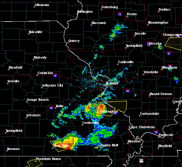Radar Image for Severe Thunderstorms near Chester, IL at 6/2/2018 8:07 PM CDT