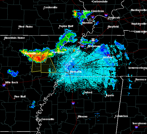 Radar Image for Severe Thunderstorms near Parkin, AR at 6/2/2018 10:26 PM CDT