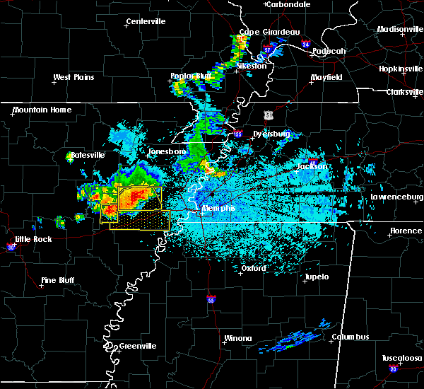 Radar Image for Severe Thunderstorms near Wheatley, AR at 6/2/2018 11:10 PM CDT