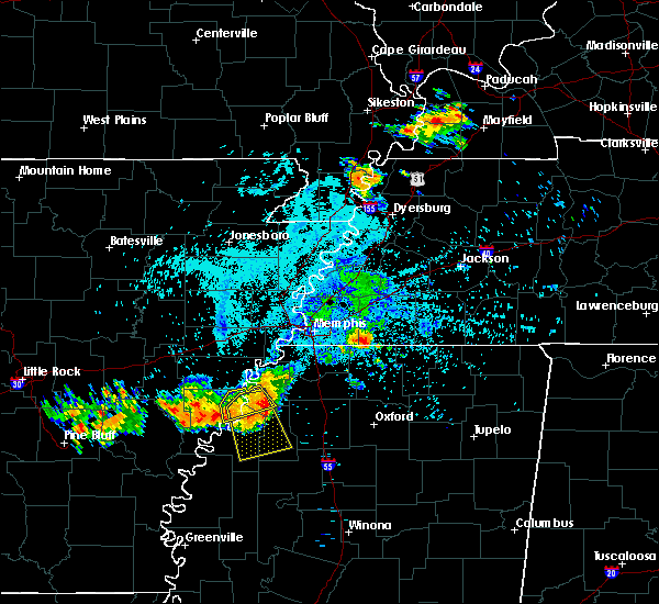 Radar Image for Severe Thunderstorms near Ashland, MS at 6/3/2018 12:34 AM CDT