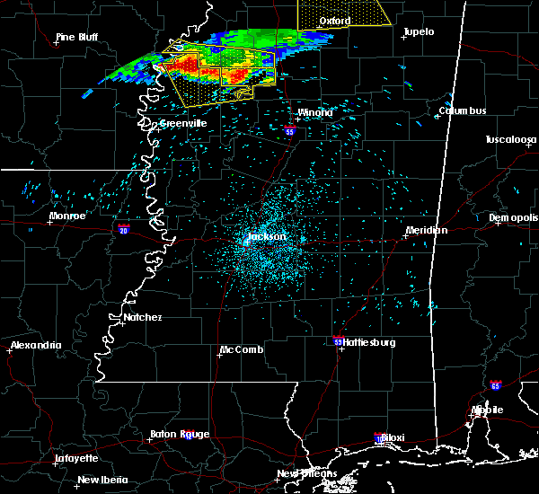 Radar Image for Severe Thunderstorms near Glendora, MS at 6/3/2018 1:27 AM CDT