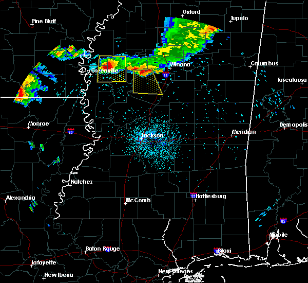 Radar Image for Severe Thunderstorms near Durant, MS at 6/3/2018 2:34 AM CDT
