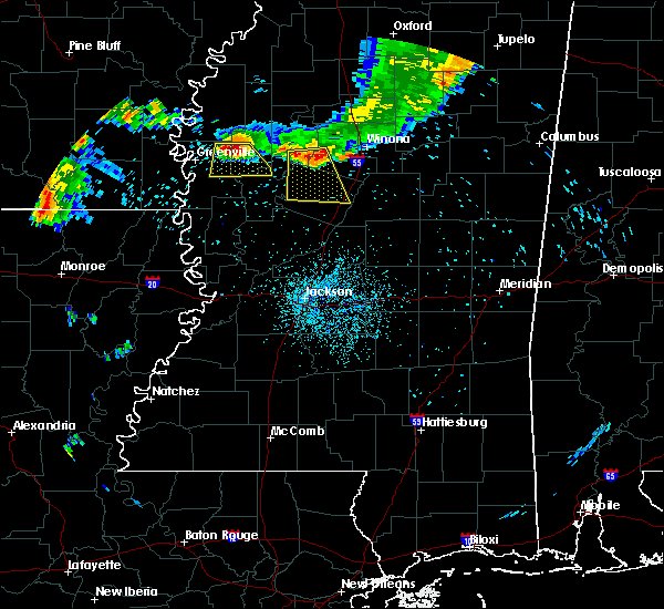 Radar Image for Severe Thunderstorms near Inverness, MS at 6/3/2018 2:40 AM CDT