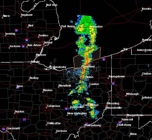 Radar Image for Severe Thunderstorms near Eastlake, OH at 6/3/2018 2:01 PM EDT