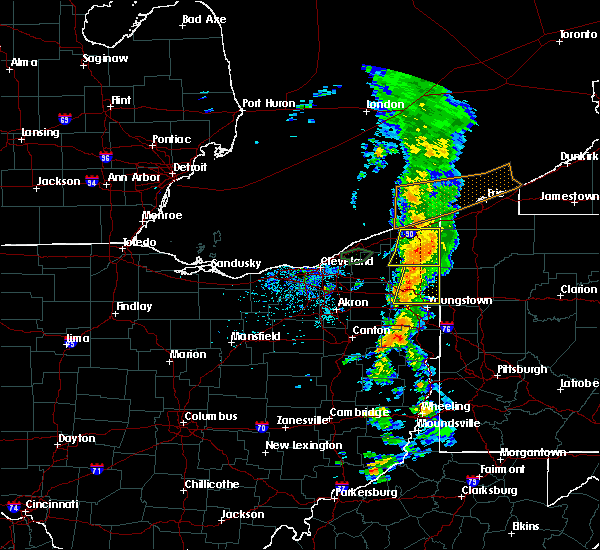 Radar Image for Severe Thunderstorms near Cortland, OH at 6/3/2018 3:30 PM EDT