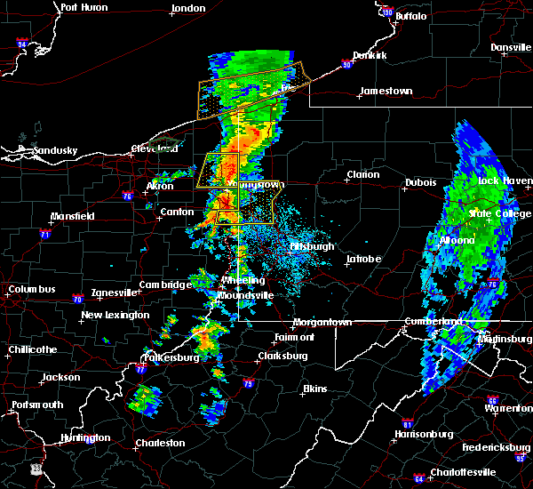 Radar Image for Severe Thunderstorms near Rogers, OH at 6/3/2018 4:00 PM EDT