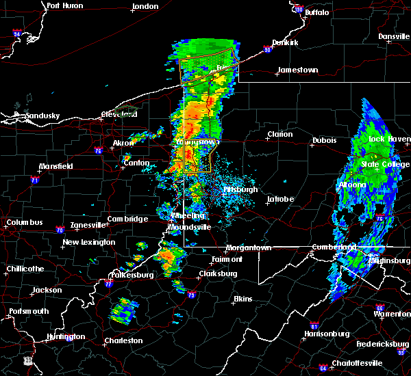 Radar Image for Severe Thunderstorms near West Pittsburg, PA at 6/3/2018 4:19 PM EDT