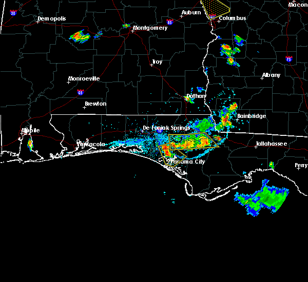 Radar Image for Severe Thunderstorms near Lynn Haven, FL at 6/3/2018 4:27 PM CDT