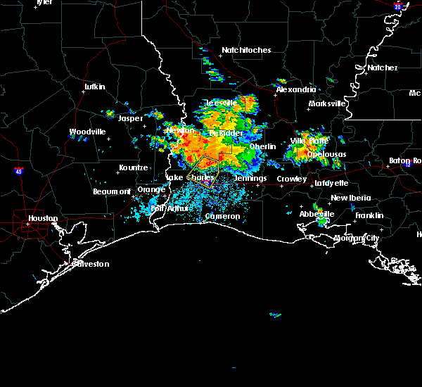 Radar Image for Severe Thunderstorms near Lake Charles, LA at 6/3/2018 5:23 PM CDT
