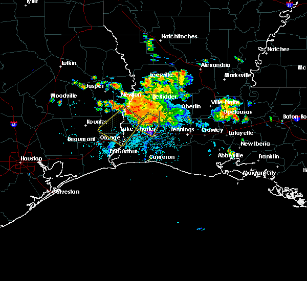 Radar Image for Severe Thunderstorms near Vidor, TX at 6/3/2018 5:32 PM CDT