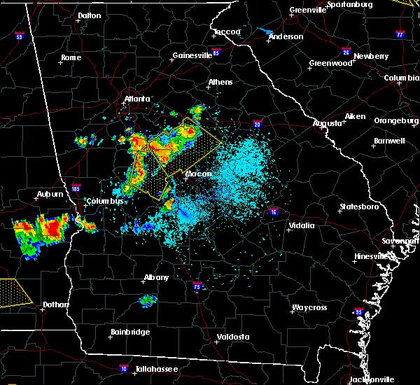 Radar Image for Severe Thunderstorms near Barnesville, GA at 6/3/2018 7:53 PM EDT