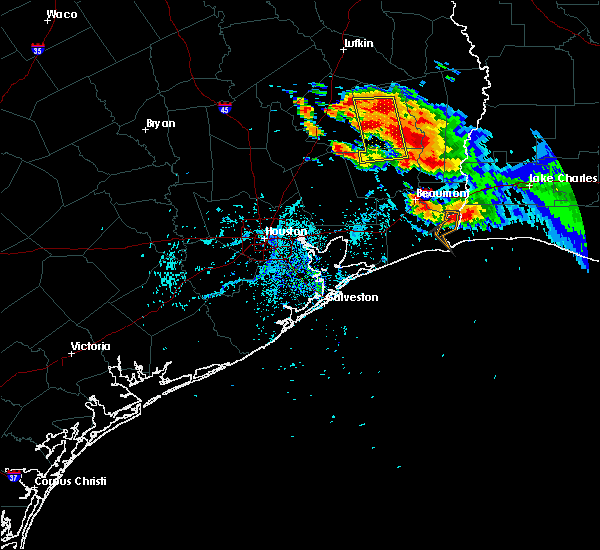 Radar Image for Severe Thunderstorms near Cedar Point, TX at 6/3/2018 7:20 PM CDT