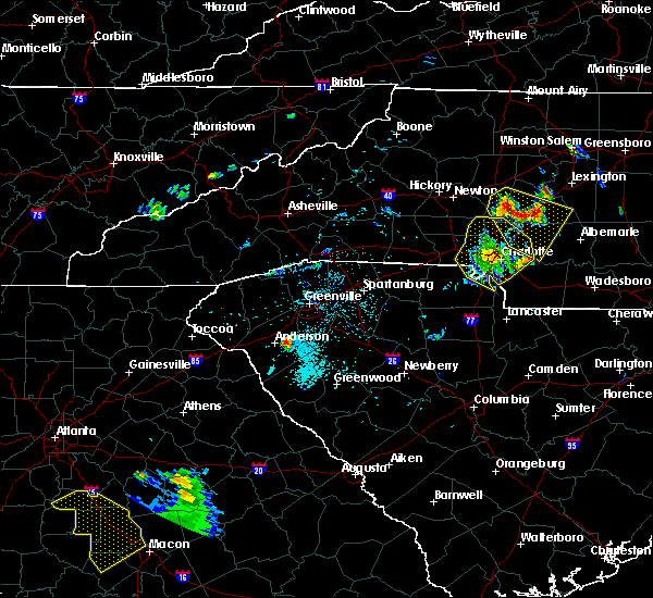Radar Image for Severe Thunderstorms near Harrisburg, NC at 6/3/2018 8:30 PM EDT
