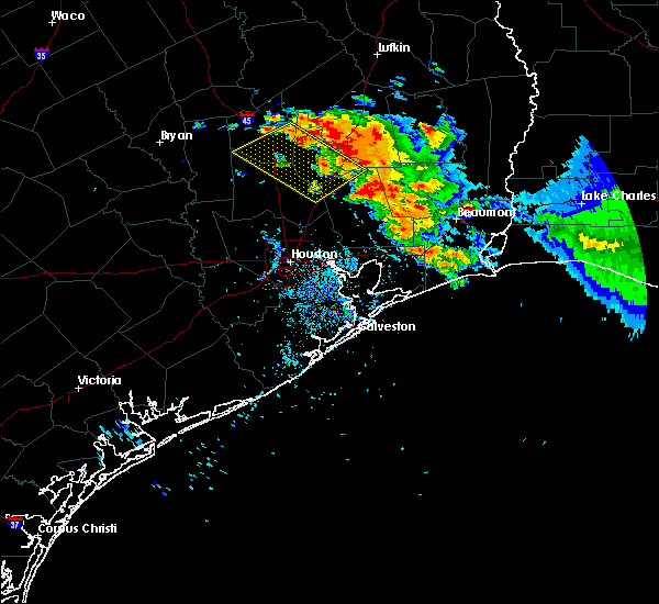 Radar Image for Severe Thunderstorms near Cape Royale, TX at 6/3/2018 8:19 PM CDT