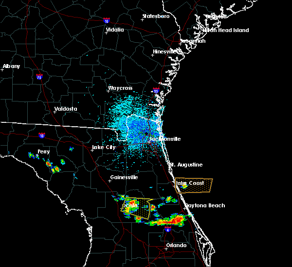 Radar Image for Severe Thunderstorms near Silver Springs Shores, FL at 6/4/2018 1:47 PM EDT