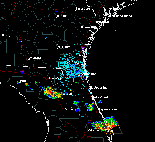 Radar Image for Severe Thunderstorms near Gainesville, FL at 6/4/2018 3:26 PM EDT