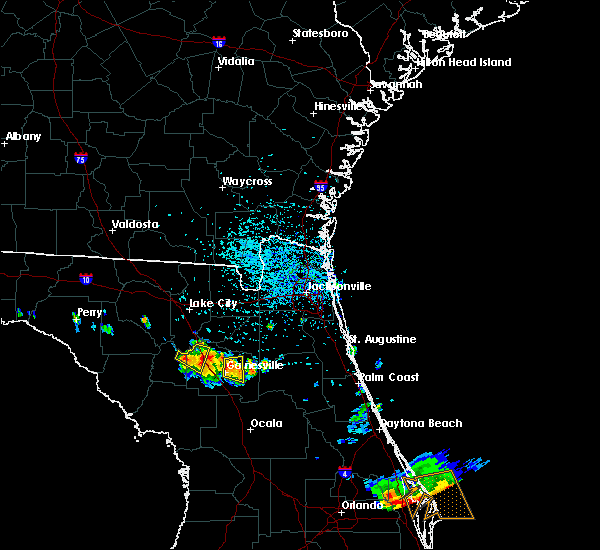 Radar Image for Severe Thunderstorms near Gainesville, FL at 6/4/2018 3:39 PM EDT