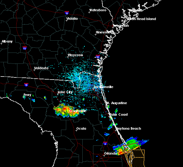 Radar Image for Severe Thunderstorms near Gainesville, FL at 6/4/2018 3:47 PM EDT