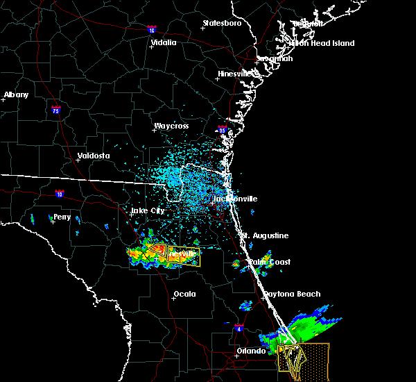 Radar Image for Severe Thunderstorms near Waldo, FL at 6/4/2018 3:59 PM EDT
